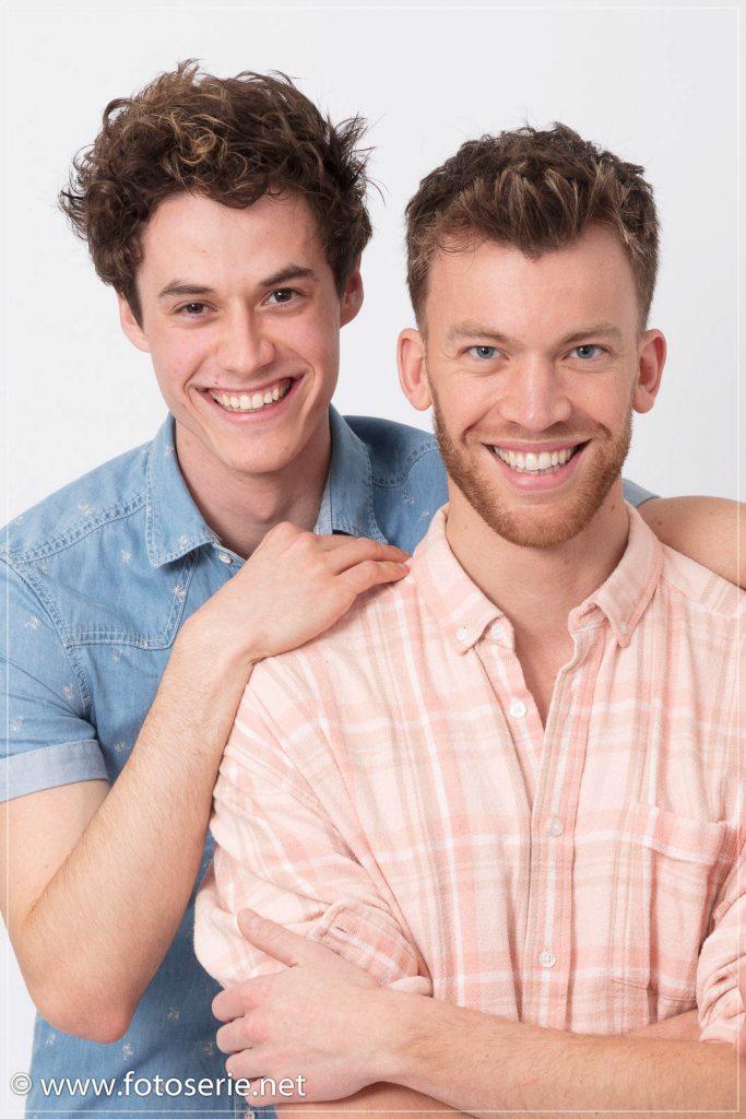 Elias en Sjoerd